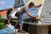 Zsindely felújítás - hőtükrös fólia beépítése
