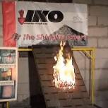 IKO zsindely tűzteszt
