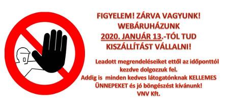 Évzárás a www.zsindelyaruhaz.hu oldalon