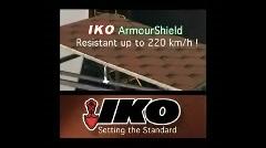 IKO Armourshield zsindely szélteszt